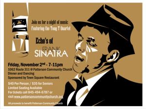 Echos of Frank Sinatra @ Patterson Community Church
